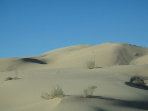 Les sables de Imperial Dunes