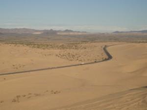 Du haut d'une Dune