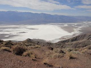 Death Valley vu de haut