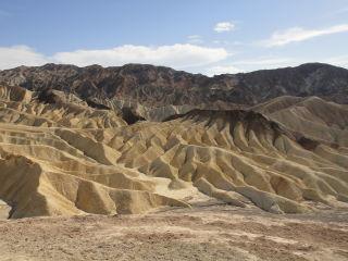 Death Valley Zabrinsky Point