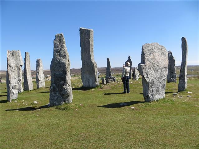 Site mégalithique en Écosse