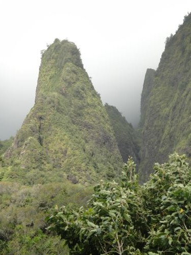 Pic dans la vallée sacrée de I'oa, Maui