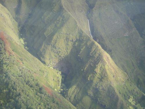 Sud de Maui - crevasses creusées par l'eau