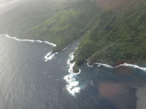 Forêt pluviale au sud de Maui - inaccessible par la terre