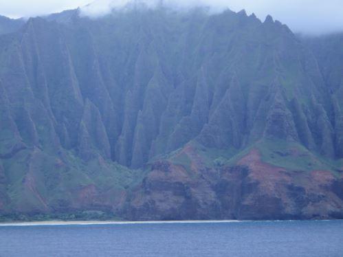 Falaises de Na Pali sur Kaui