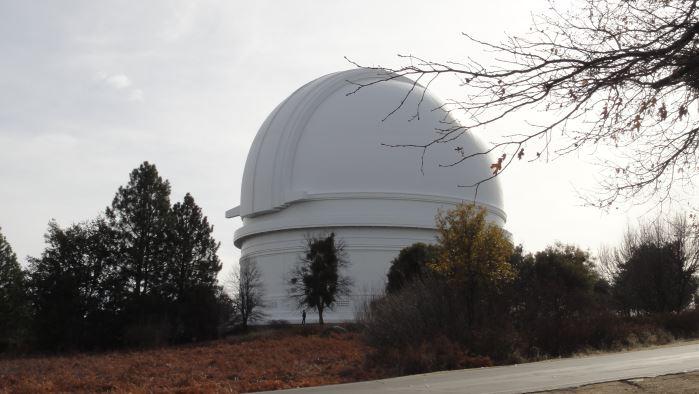 Observatoire du Mont Palomar, près de San Diego